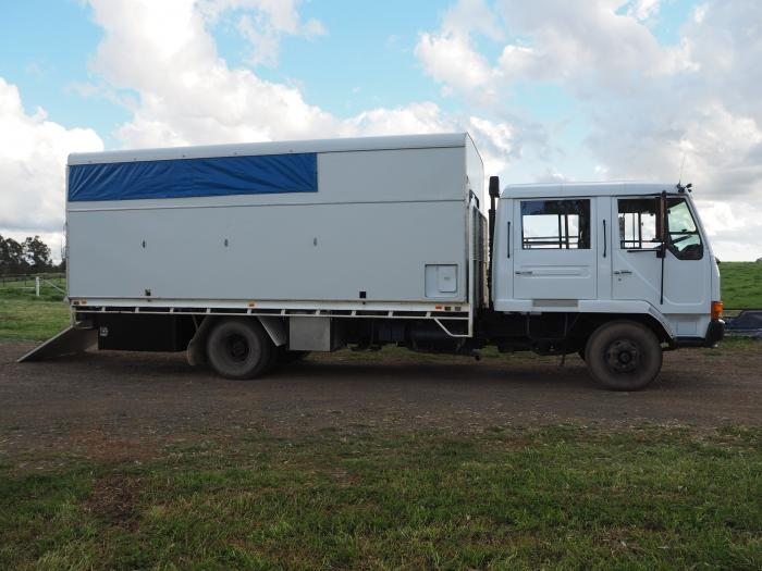 Dual Cab Horse Truck - Mitsubishi FK415