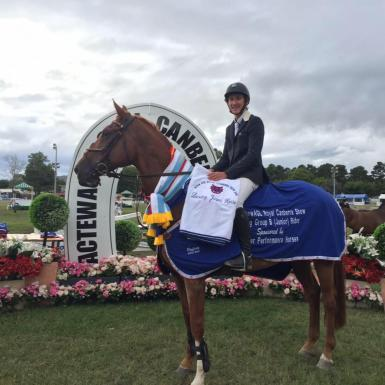 Canberra royal leading jr horse and rider (2 years)