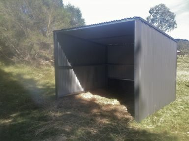 Please Note shelters are not this colour they are Headland
