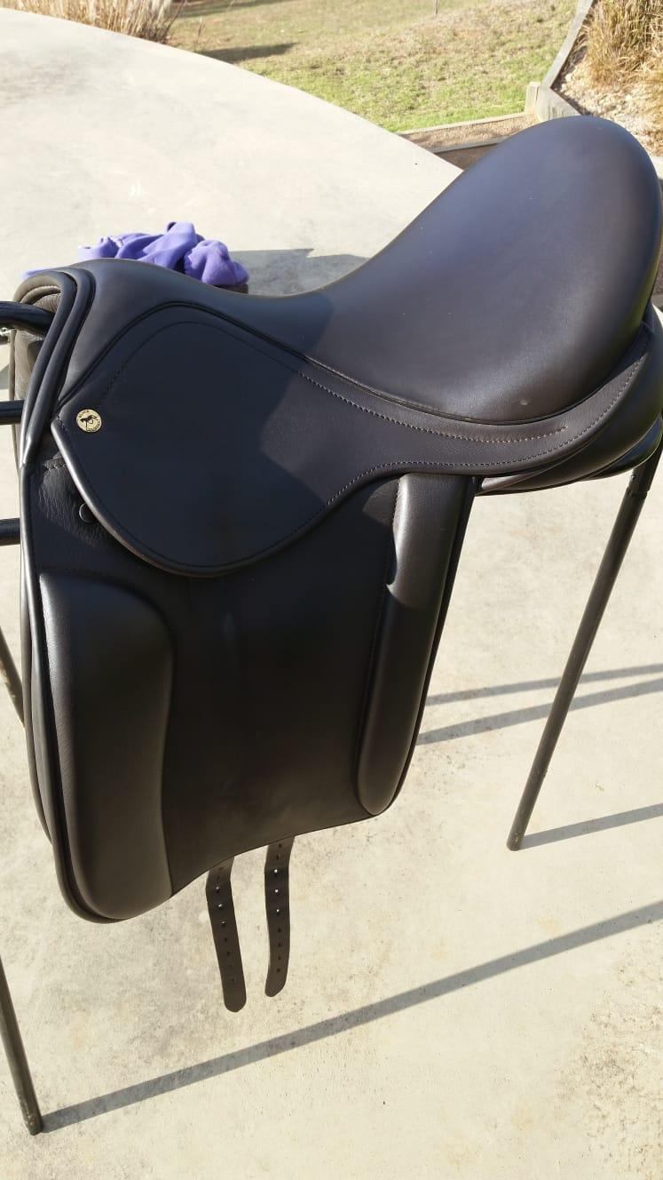 "17"" Black Country Saddle Dressage/show"