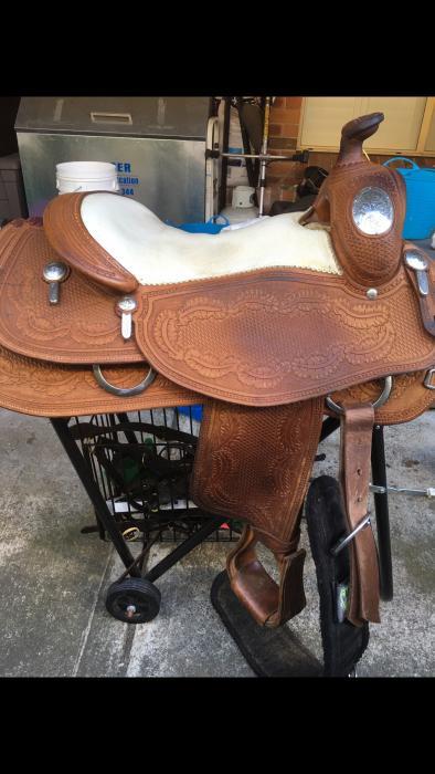 John Shortt Reining Saddle