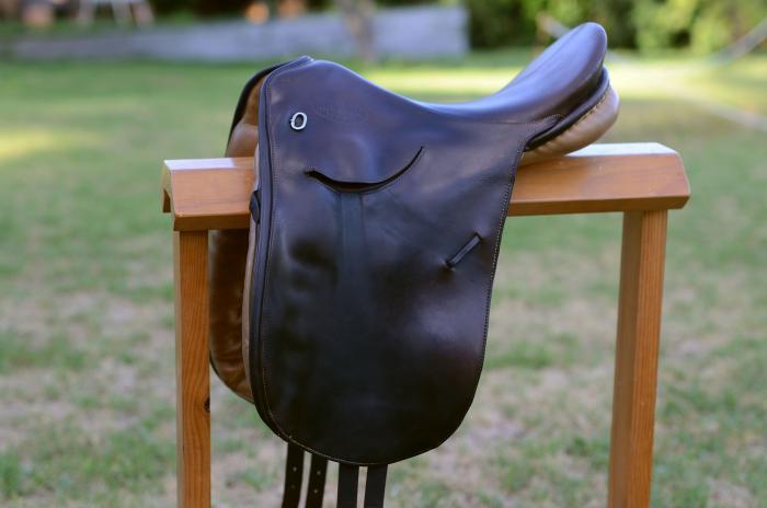 Kieffer, 17inch Dressage Saddle