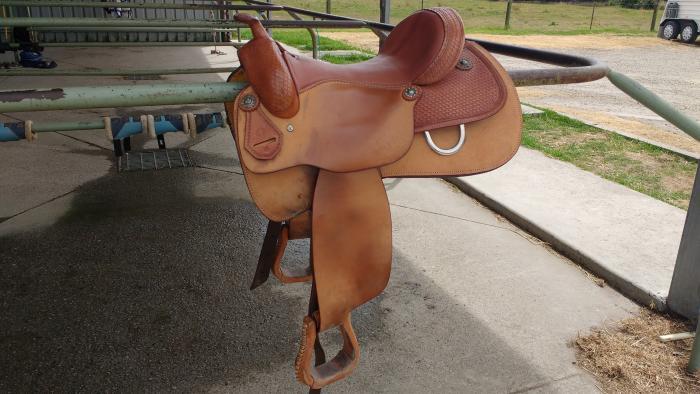 Stallion Western Saddle