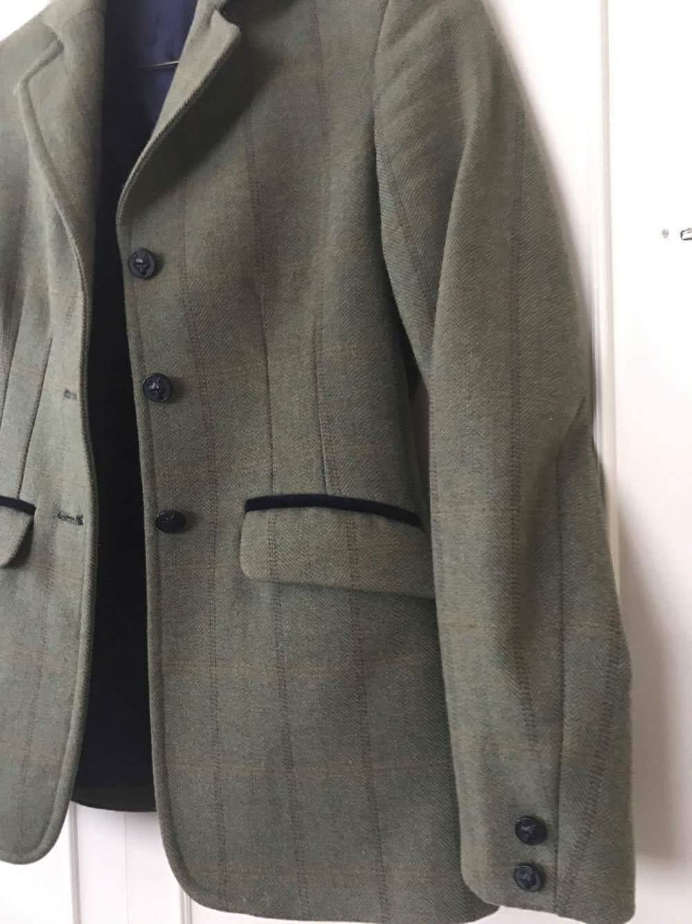 Tweed riding jacket