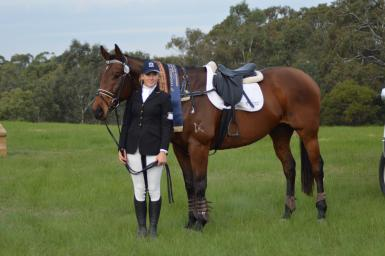 1st in the C grade SJ at Leighdale