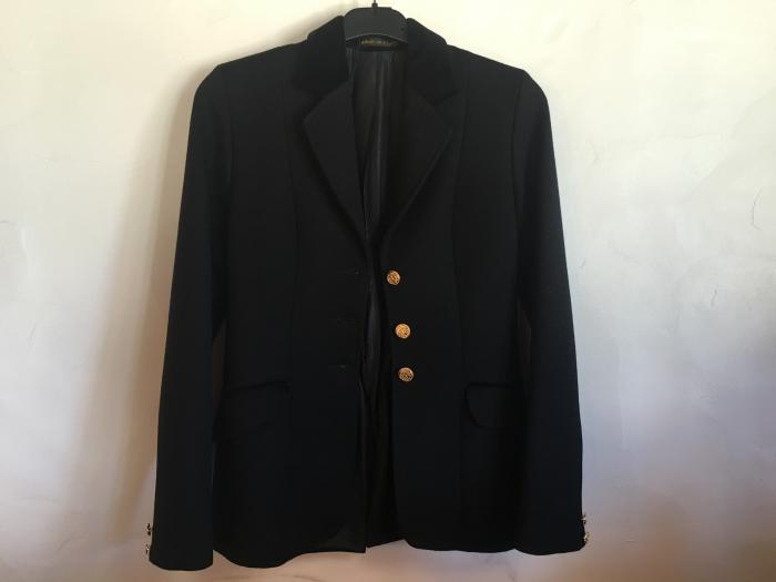 Pretty Ponies Black Show Jacket  Ladies size 6