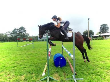 Jess Rae Jumping at home