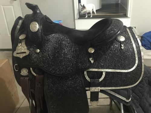 Harris Show Saddle - Black 15 1/2