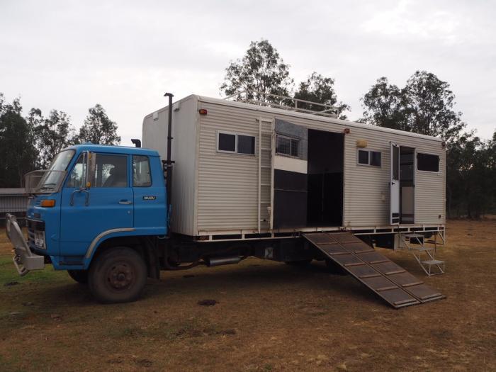 Fantastic 4 Horse Family Truck