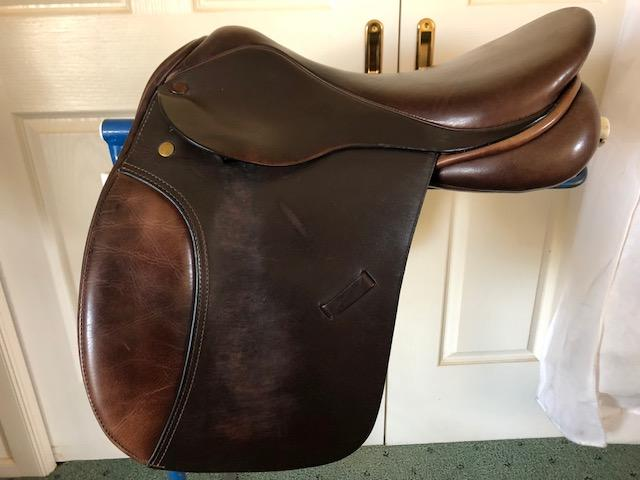 "16"" Collegiate Pony Saddle"