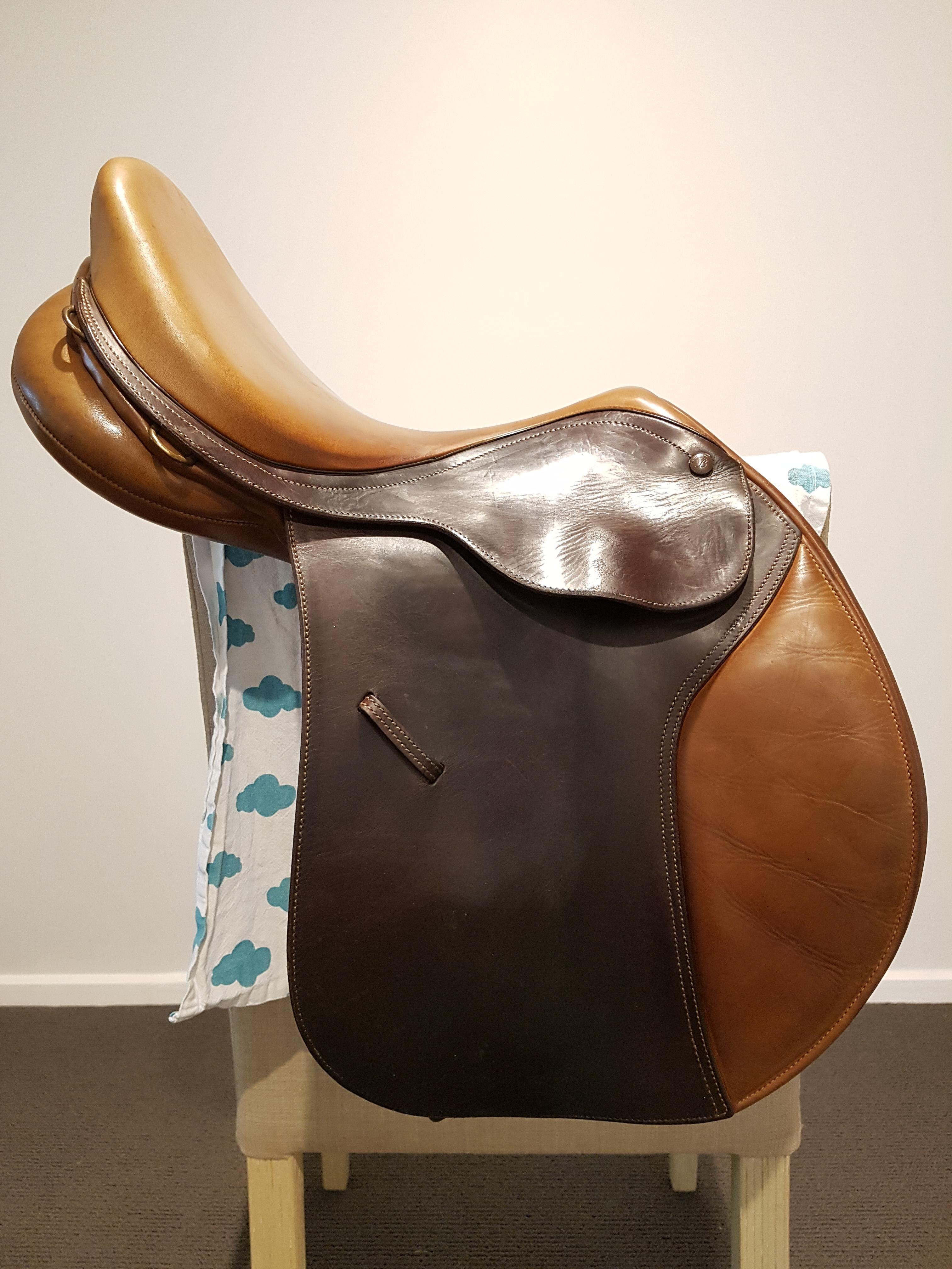 "16"" Bates Caprilli Jump Saddle"