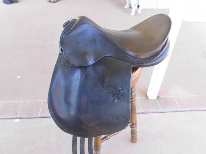 "SYD HILL 16"" SADDLE - WITH MOUNTS"