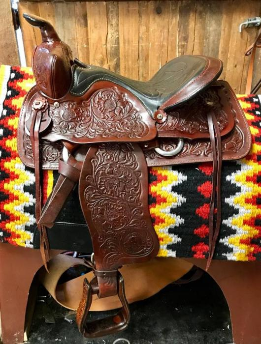 Excellent Cond. Imp. Western Saddle