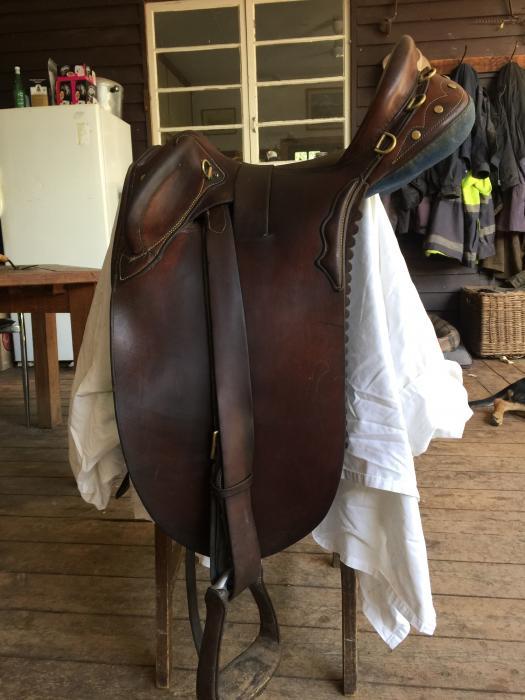 Denis Jackson Stock Saddle