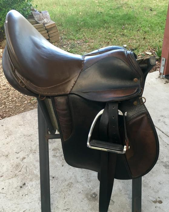 Coleman Croft Sovereign All Purpose Leather Saddle