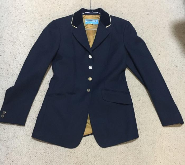 Navy Windsor Riding Jacket 10