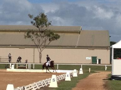 Red at Werribee
