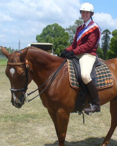 Kempsey Gymkhana Champion Under 17 Rider
