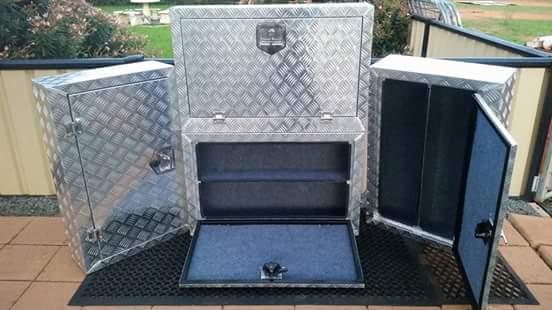 NEW small outside tack/bbq box