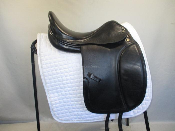 "Harry Dabbs Elegant 17.5"" Dressage Saddle"