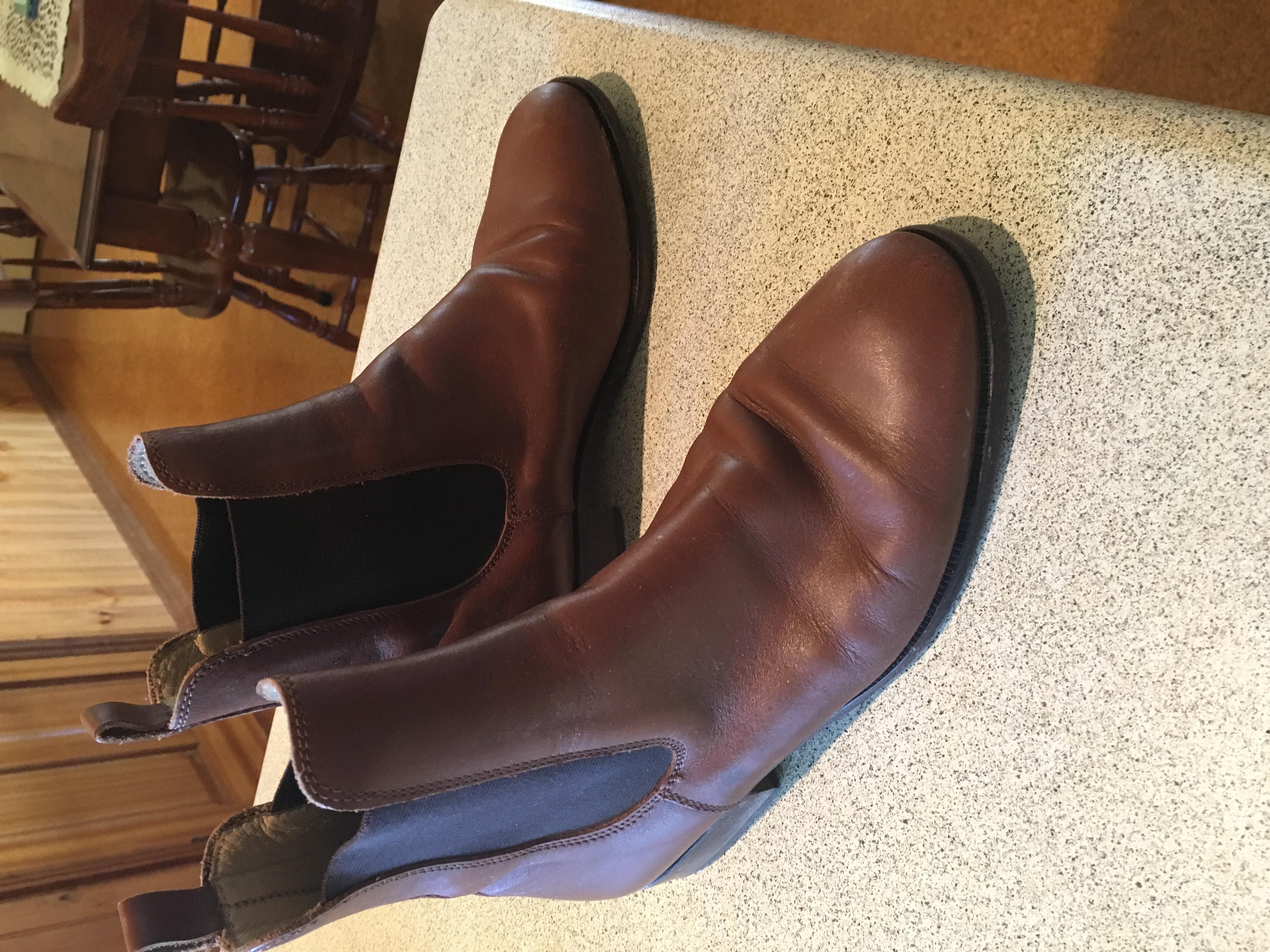 Denis Club Brown ladies boots