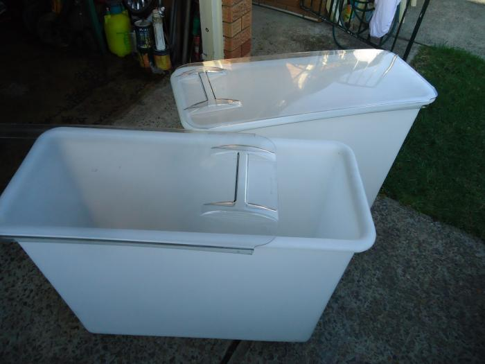 Feed Bins x 2 & fully Rodent proof (Sydney)