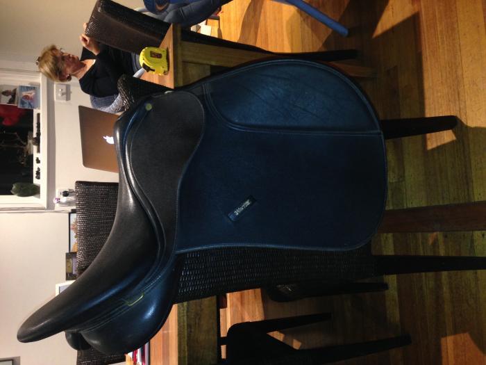 17inch Black Wintec allpurpose saddle