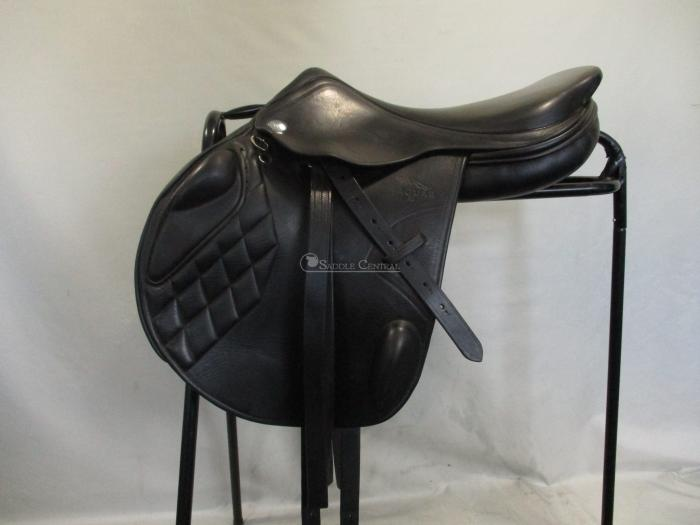 "Harry Dabbs Jaguar XJ Mono 17.5"" Jump Saddle"