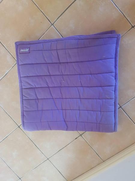 Purple Roma Saddle Cloth