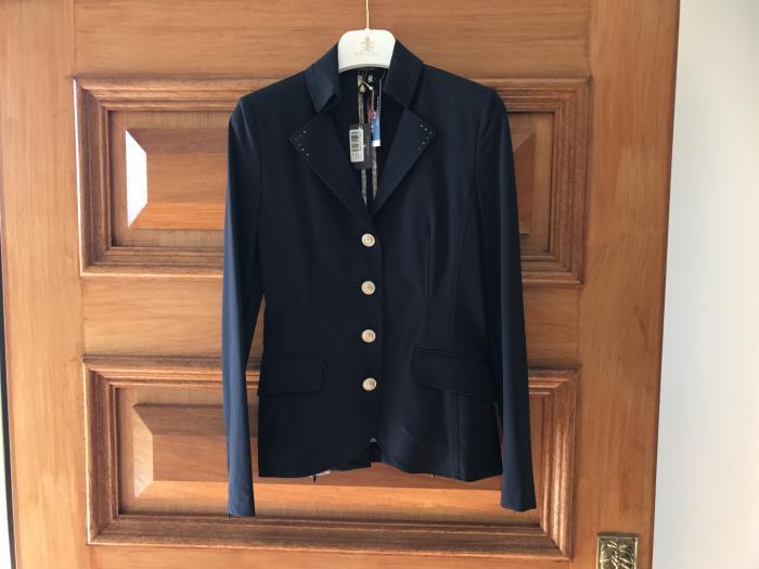 Schockemohle Allegra navy riding jacket