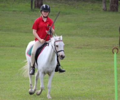 Mounted Games Sword Race
