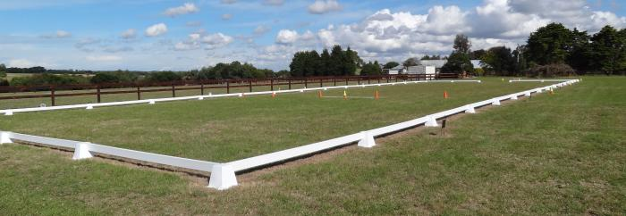 Quality 60m x 20m Portable Dressage Arena