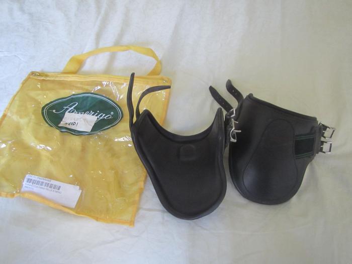 New black Amerigo jumping boots hind size Med