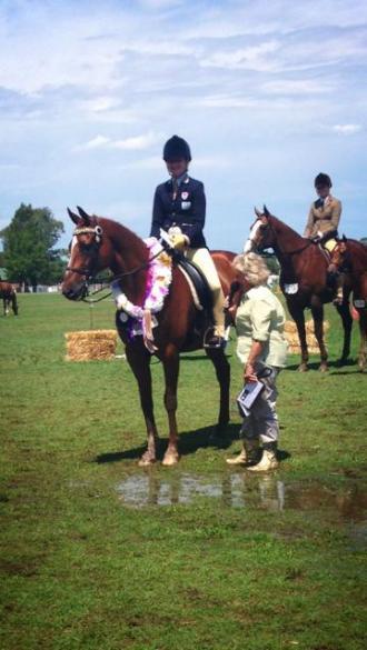 Grand Champion Childs Exhibit - 2013 ESH Championship Show