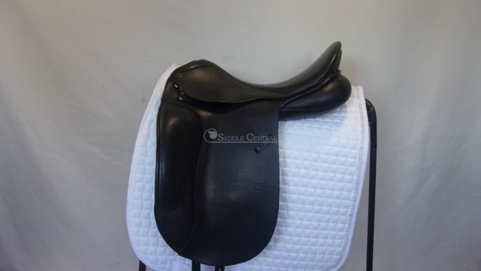 """Trainer's Jessica Pro 18"""" Dressage Saddle"""