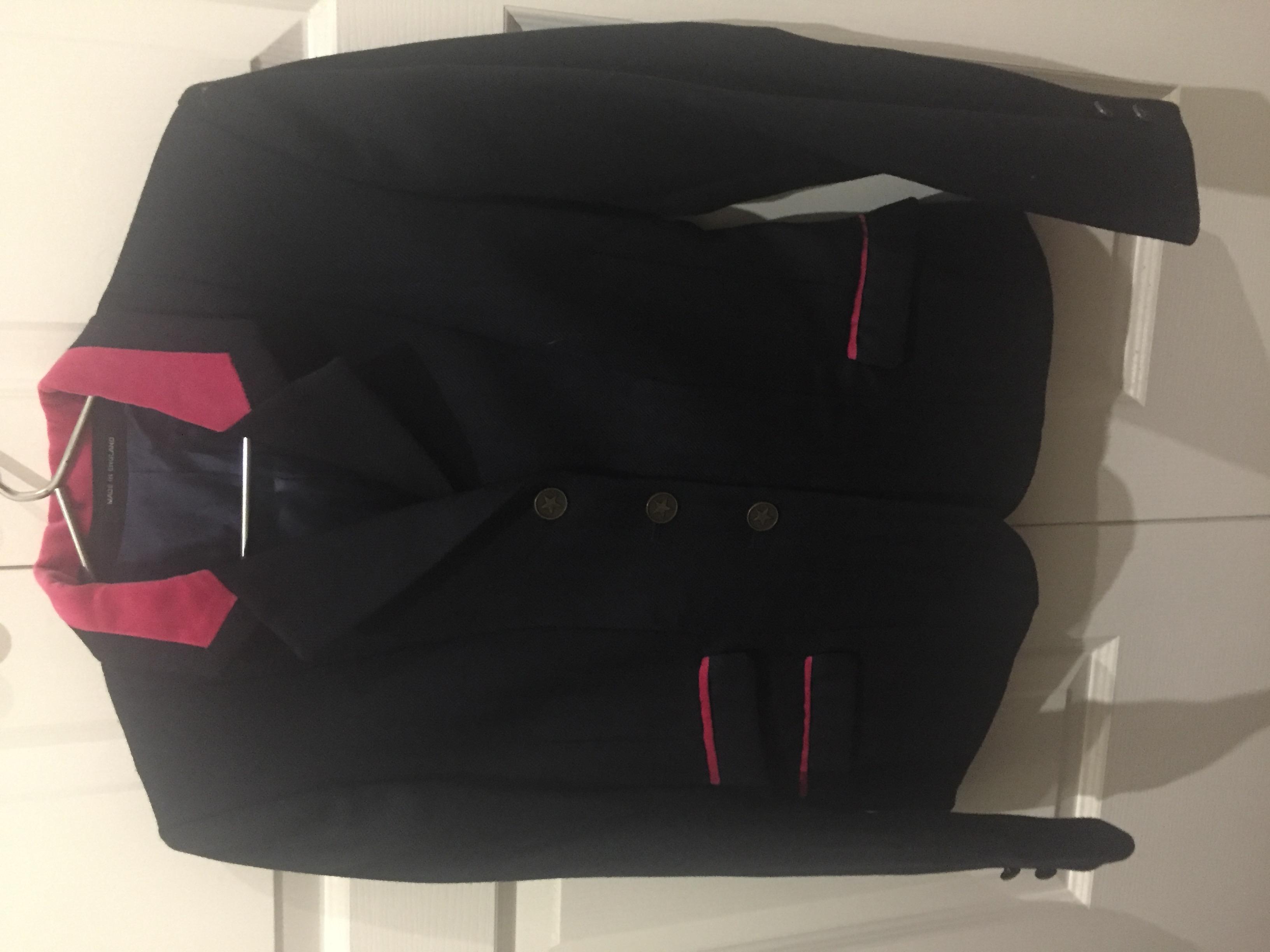 English wool hacking jacket