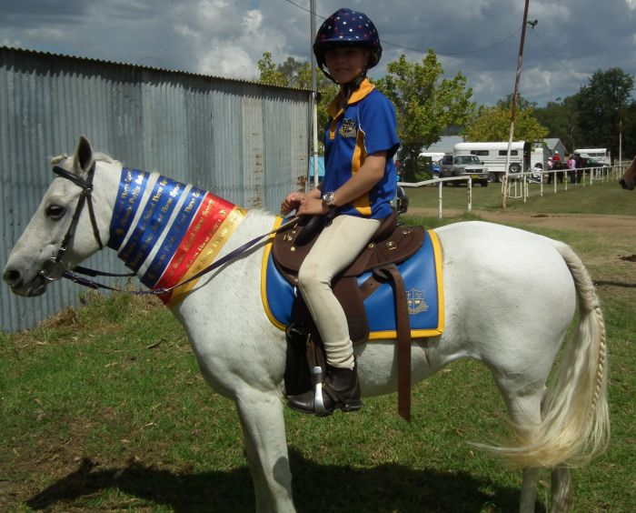 Harriet Blue 12.2hh Riding Pony