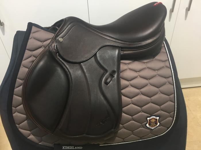"Equipe Synergy Special Jump Saddle 17"" +1 Brown"