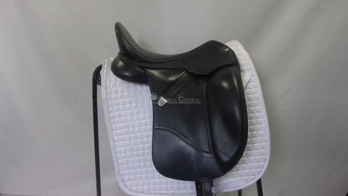 "Bates Isabell Werth 17.5"" Dressage Saddle"