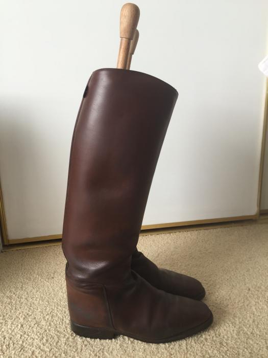 Dark Tan Cavello Top Boots