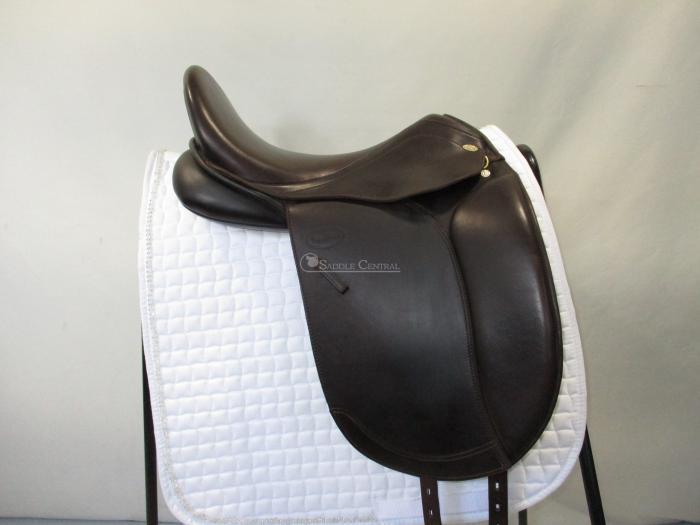 """Kentaur Penelopa 17"""" BROWN Dressage Saddle"""