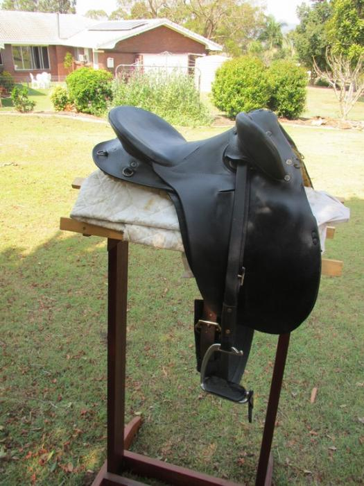 CHILDS AUSTRALIAN Made Stock Saddle
