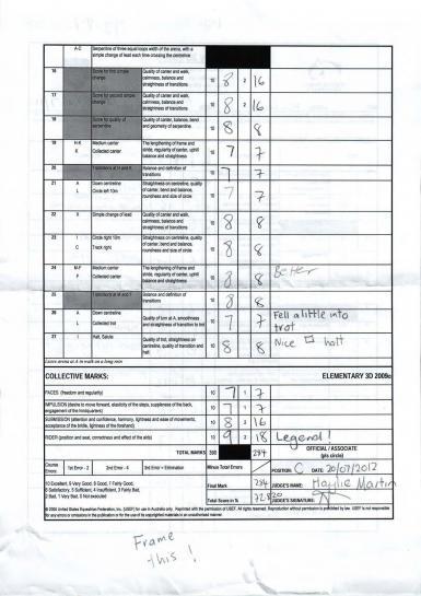 Elementary score page 2