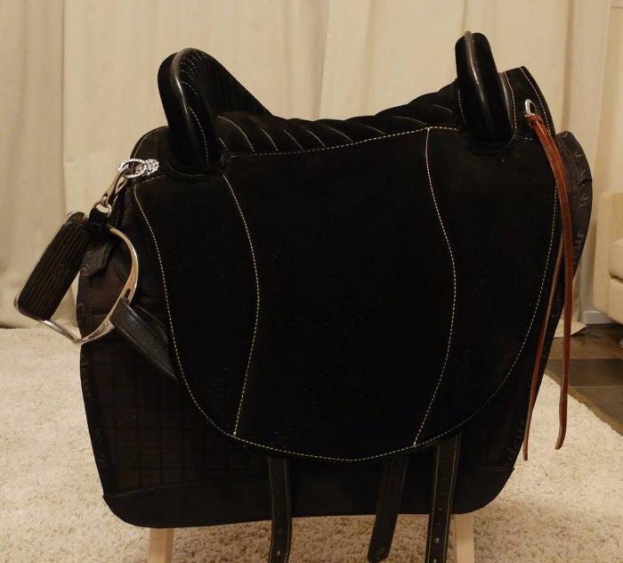 Spanish Baroque Saddle - Hidalgo Barocco