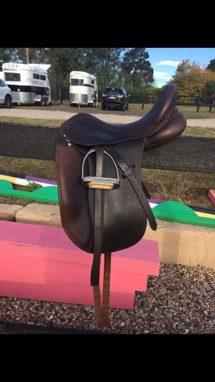 "17.5"" PDS Dressage Saddle"