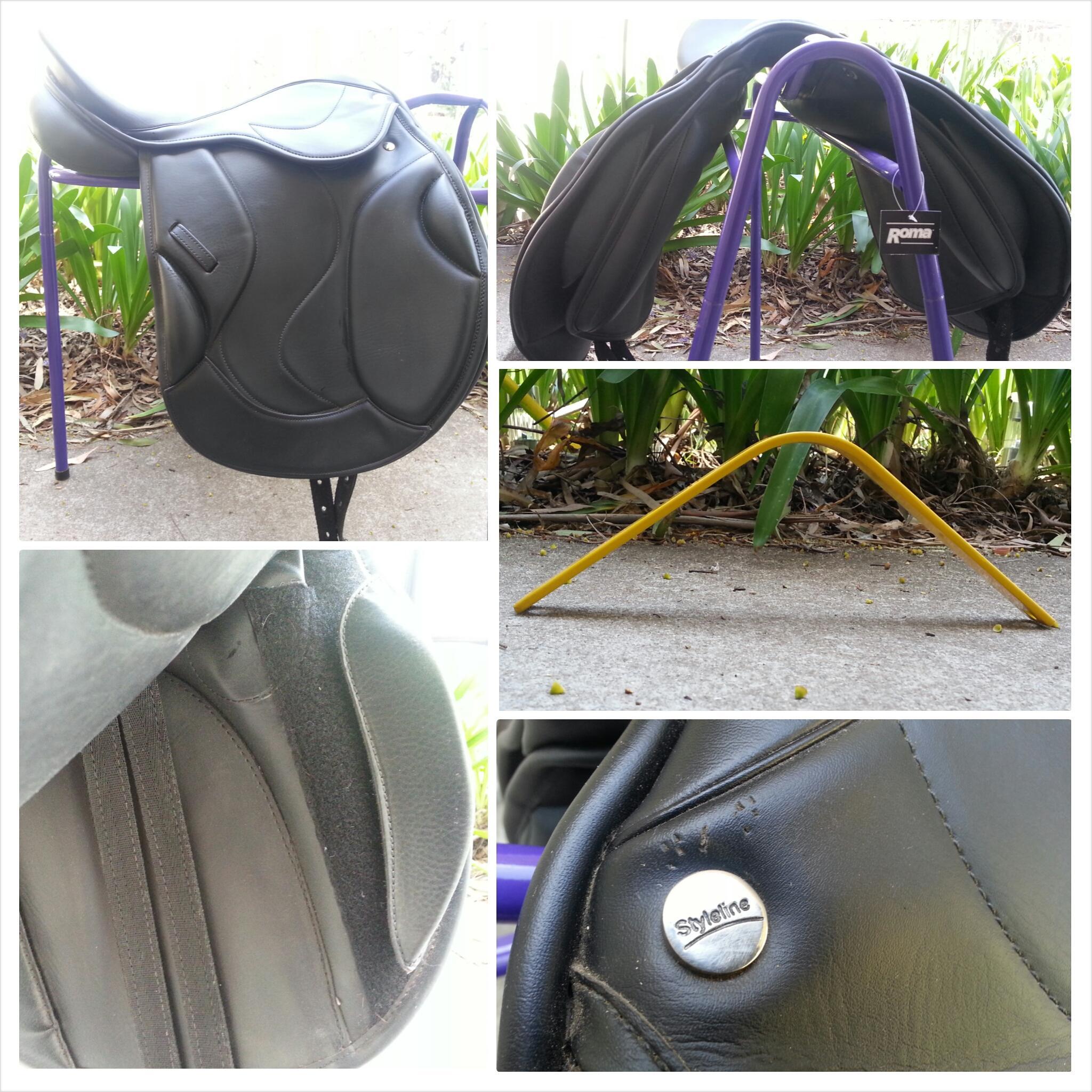 Styleline synthetic 17 inch AP saddle