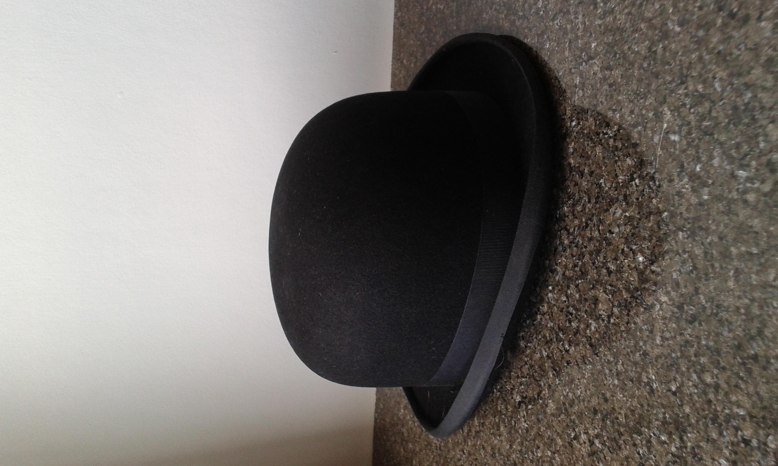 ladies show Bowler Hat