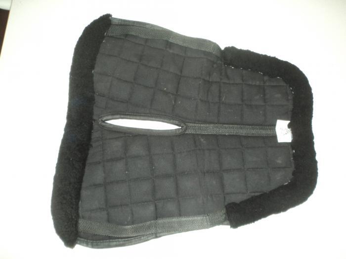 Sheepskin half pad - Black