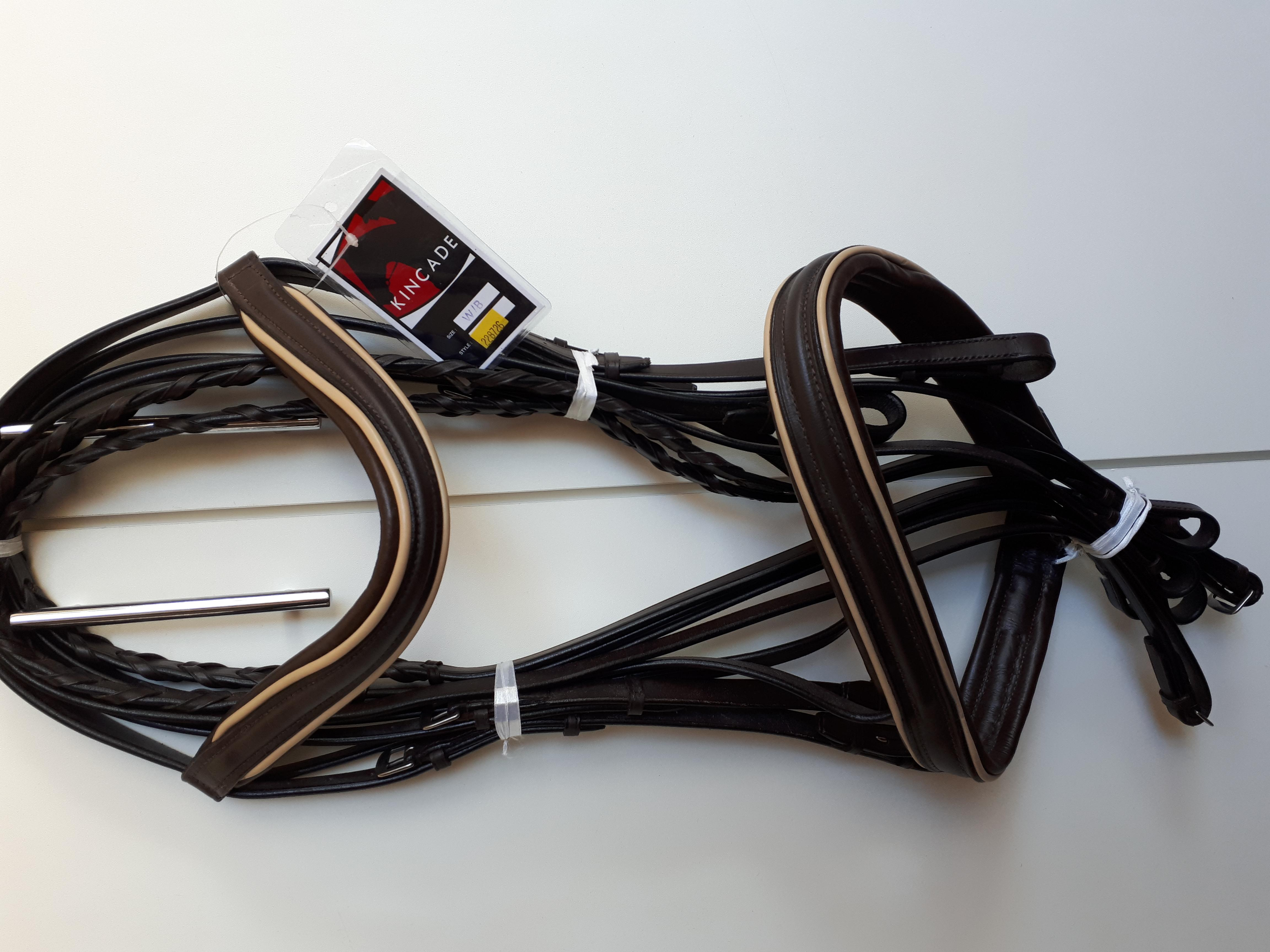 Brand New Kincade Double Bridle