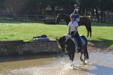 Cross country outing at Silverhills Farm